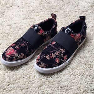 G by Guess Floral Sneakers